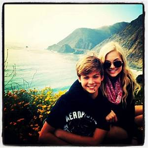 Photo: Olivia Holt And Her Brother Road Trip With Family ...