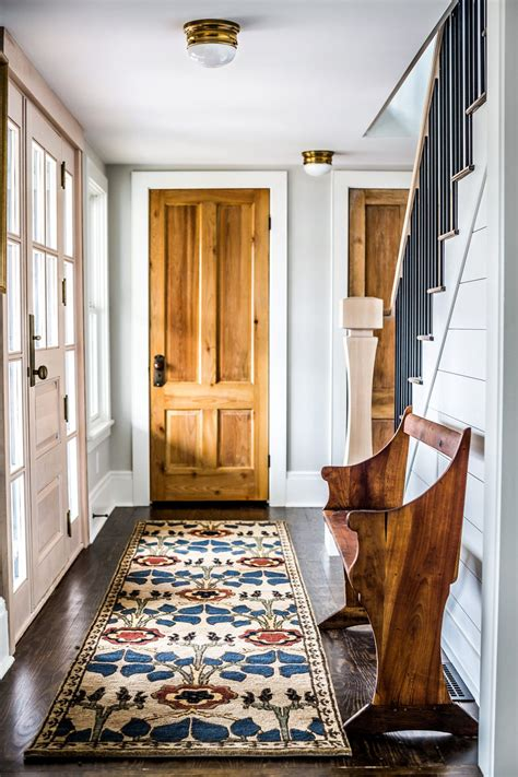 Interior Door Rugs by Fresh Farmhouse White Walls Wood Accents Home D 233 Cor