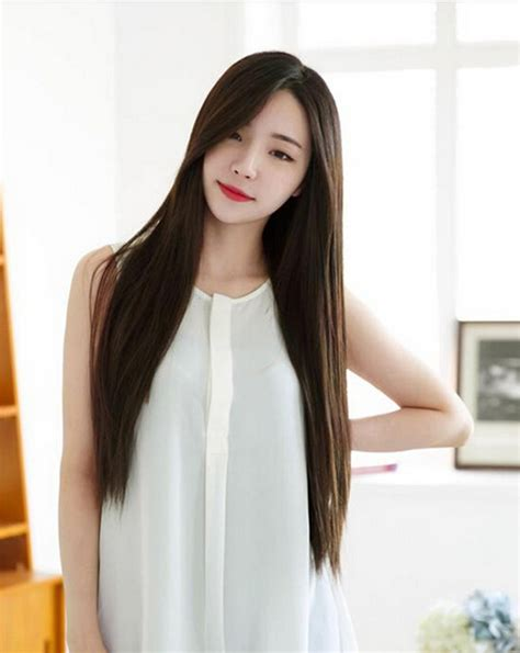 Korean Style Hair Long Women Korean Boy Style Hair