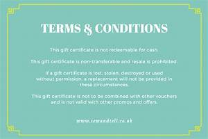 win over shoppers with a charming gift certificate With gift certificate terms and conditions template