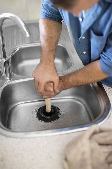 kitchen sink for three simple ways to unclog a sink drain 5810