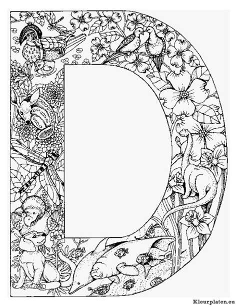 Dieren Alfabet Kleurplaten Nl by Alfabet Dieren Kleurplaat 911313 Kleurplaat