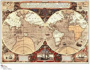 Aliexpress.com : Buy About retro Vintage world Map canvas ...