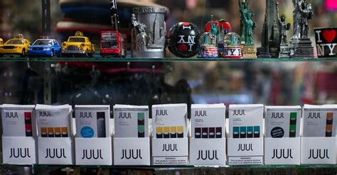 juul  stop selling   cigarette flavors  stores