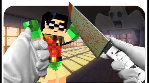 Realistic Minecraft Evil Doctor And Nurse! Halloween