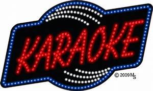 Karaoke Animated LED Sign