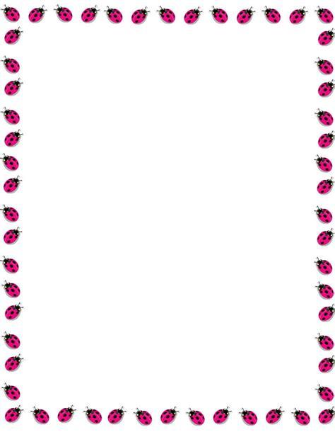 printable letter borders clipart