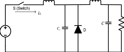 Shows The Circuit Diagram Zcs Based Buck Converter
