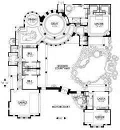 floor plans blueprints courtyard home plans find house plans
