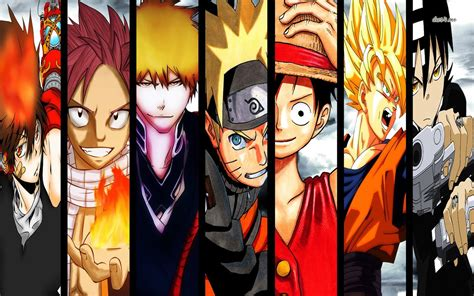 Anime Characters Wallpaper - los mejores animes shōnen top 10