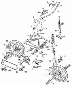 Murray Model 45746a Bicycles Genuine Parts