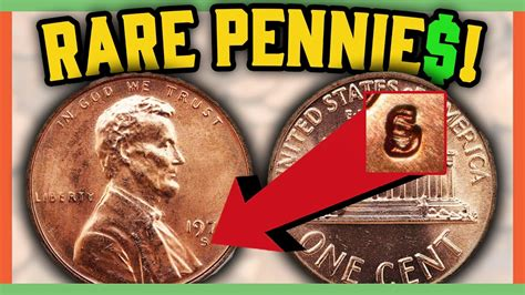 Rare Error Pennies Worth Money  Valuable Coins In
