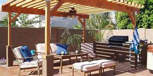 Pergola Plans-20 DIY Ideas to Add Shaded Sitting Area