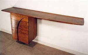 Fine Woodworking Cabinetry - Cantilevered Credenza