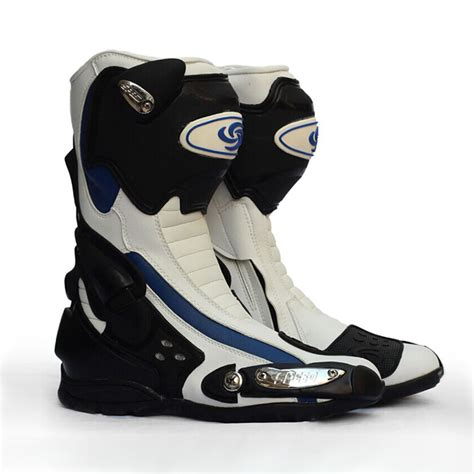 Leather Botas De Motocross Boots Botas Motorcycles Men