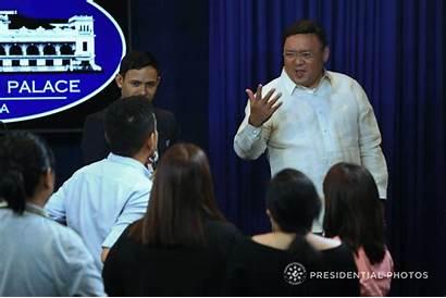 Roque Harry January Presidential Briefing Press Spokesperson