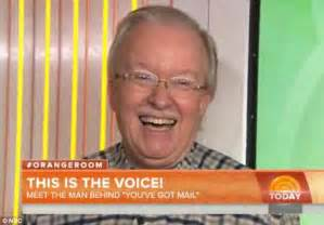 Elwood Edwards Is Unmasked As The Voice Of Aol's 'you've