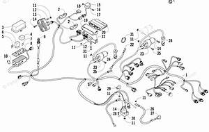 Arctic Cat Atv 2009 Oem Parts Diagram For Wiring Harness