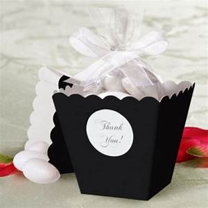 black popcorn box wedding favor kit party city 1999 With party city wedding favor boxes
