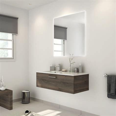 facade meuble de cuisine leroy merlin meuble de salle de bains de 100 à 119 brun marron neo
