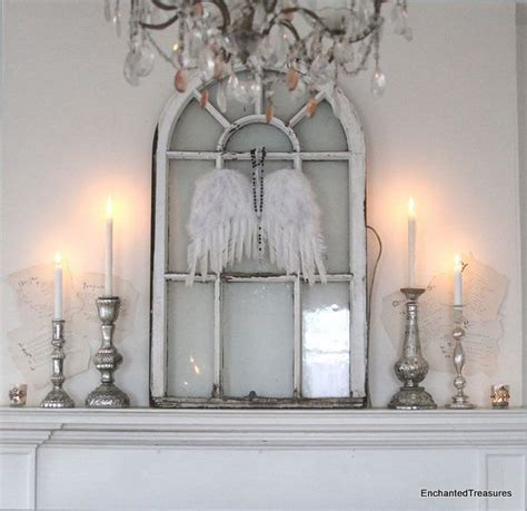 shabby chic mantel decor mantel of the month enchanted treasures shabby chic romantic decorating and hand painted