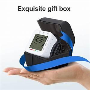 Generic Digital Wrist Blood Pressure Monitor Cuff Check