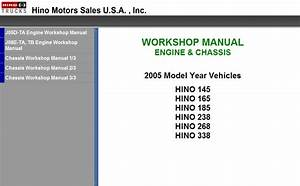 Hino Workshop Manual 2008