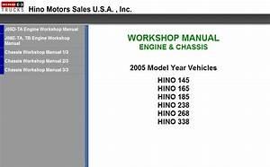 Hino Workshop Manual 2008