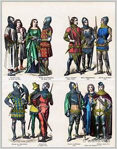 German medieval clothing in the 14th century. | Costume ...