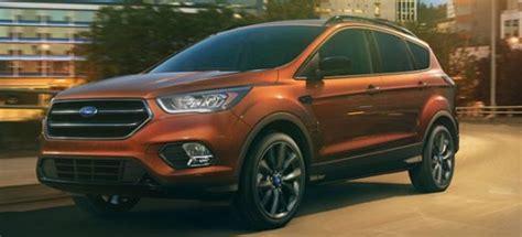 ford escape redesign release date interior specs