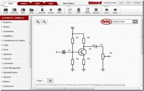 circuit diagram creator  create electronic