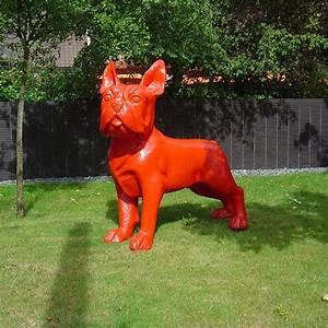 Statue Bouledogue Français : statue bulldog french xxl jardinchic ~ Teatrodelosmanantiales.com Idées de Décoration