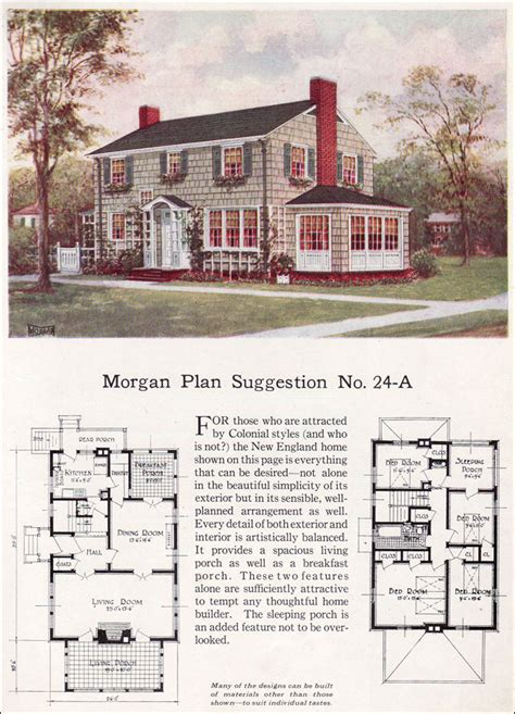 classic colonial revival morgan traditional house plan