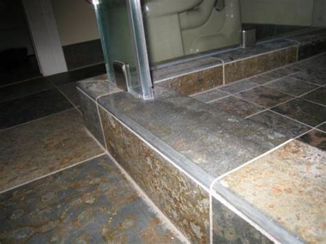 slate bullnose trim tile sarah young tiling exles
