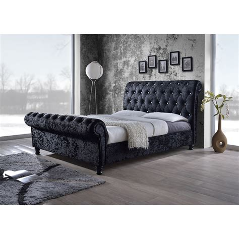 black velvet king headboard baxton studio black velvet upholstered faux
