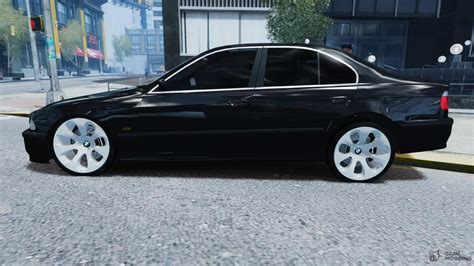 Bmw E39 Rims by Bmw 530i E39 E63 White Wheels For Gta 4