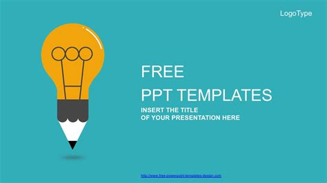 Creative Powerpoint Templates Free Creative Idea Bulb Free Powerpoint Template