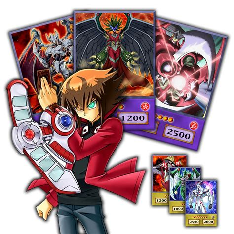 Jaden Yuki Deck List Season 2 by Jaden Yuki Deck Anime Style Season 4