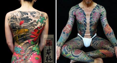 fascinating yakuza tattoos   hidden symbolic