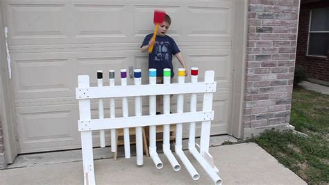 xylophone built   pvc pipe youtube