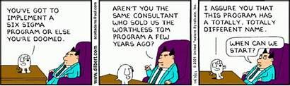 Lean Dilbert Vittigheder Cartoons Operations Better Sigma