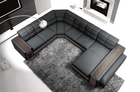 grand canape cuir les concepteurs artistiques tres grand canape design