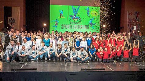 252 Sportler Werden In Der Stadthalle Rottweil