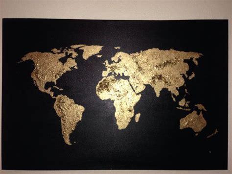 urspruengliche welt malerei acryl karte landkarte von