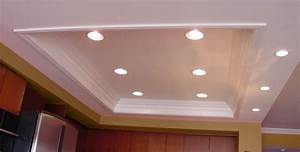 Installing recessed lighting in a kitchen : Beautiful pot lights in kitchen ceiling taste