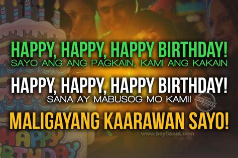filipino birthday quotes quotesgram