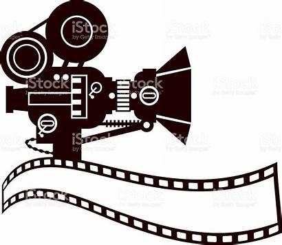 Camera Clip Vector Clipart Film Reel Royalty