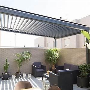 Pergola Bioclimatique Modern Sur Mesure En Aluminium Alsol