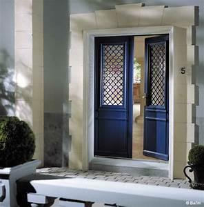 comment choisir sa porte d39entree travauxcom With porte d entrée alu avec rénovation salle de bain prix