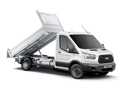 ford transit tipper   rwd  tdci ps  stop